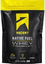 Ascent Whey Vanilla Bean
