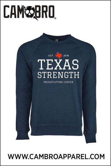 TXS SWEATSHIRT BLUE AND WHITE