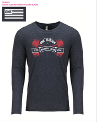 ONE Nation Barbell Club - long sleeve shirt