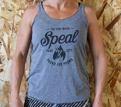 Team Speal Womens Grey Tank