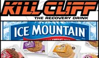 Kill Cliff, Water, Cookies Image