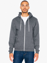CFTY Zip Hoodie (Dark Heather Grey)