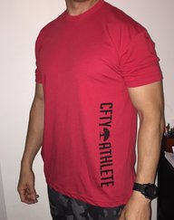 CFTY Athlete Shirt (Red)