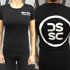 Women's Circle T (Black/White)