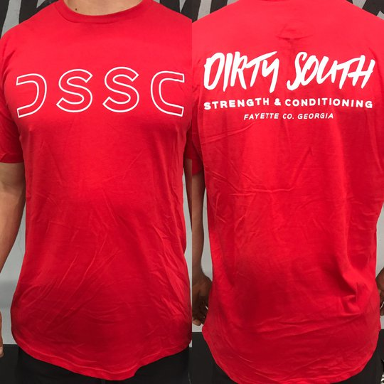 Men's DSSC T (Red/White)