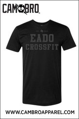 EADO CROSSFIT (BLACK ON BLACK) TANK