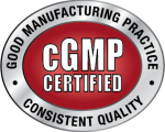 cGMP Certified Badge