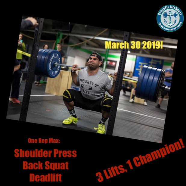 2nd Annual CrossFit Total Competition!