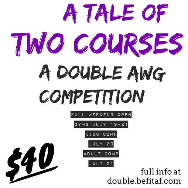 A Tale of Two Courses: A Double AWG Event