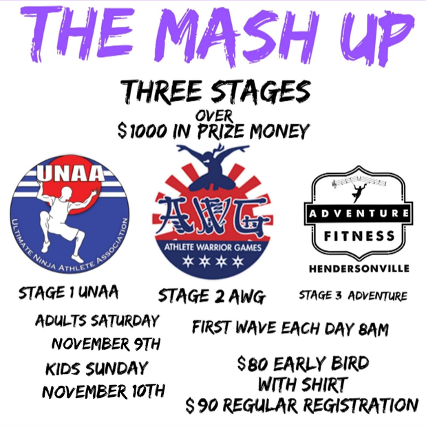 The Mash Up: A UNAA & AWG Weekend