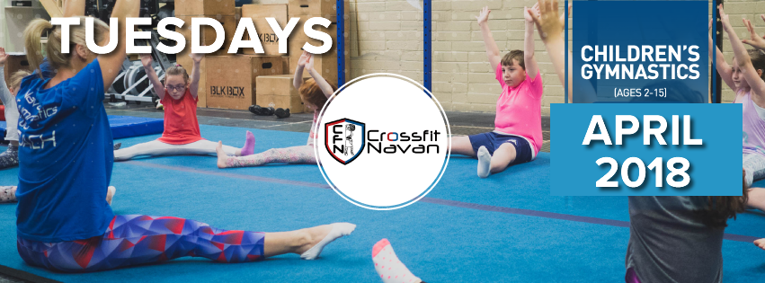 April/May Gymnastics Term: Tuesdays, Rec 7+, 3.50pm
