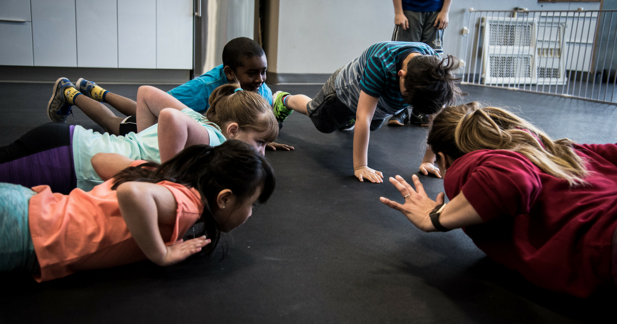 CrossFit Kids - Spring Session - Once Per Week - Wednesdays @ 5:30 pm - Combined Age Group