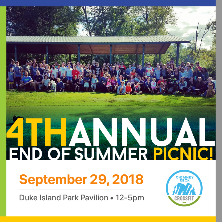 End of Summer Picnic!