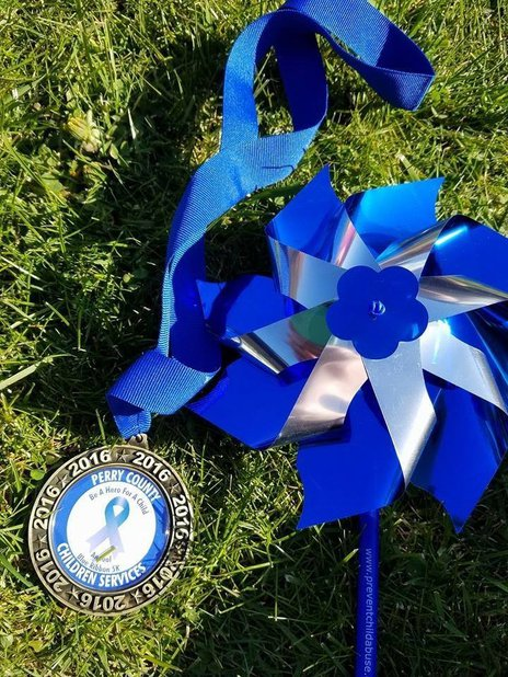 Perry County Children's Services Annual Blue Ribbon 5K