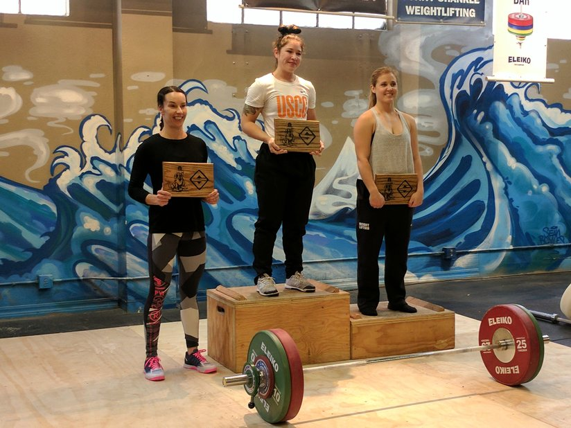 The Alameda Weightlifting Competition (USAW/PWA Sanction #  38-17-76379)
