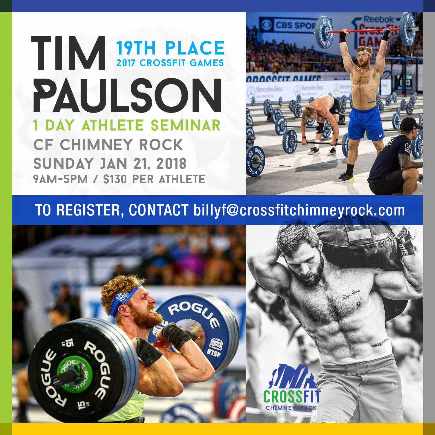 Tim Paulson Athlete Seminar