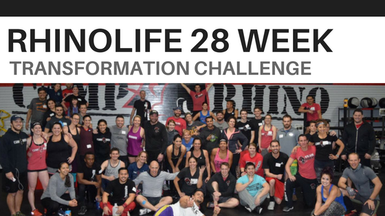 RhinoLife 28 Week Total Transformation Challenge