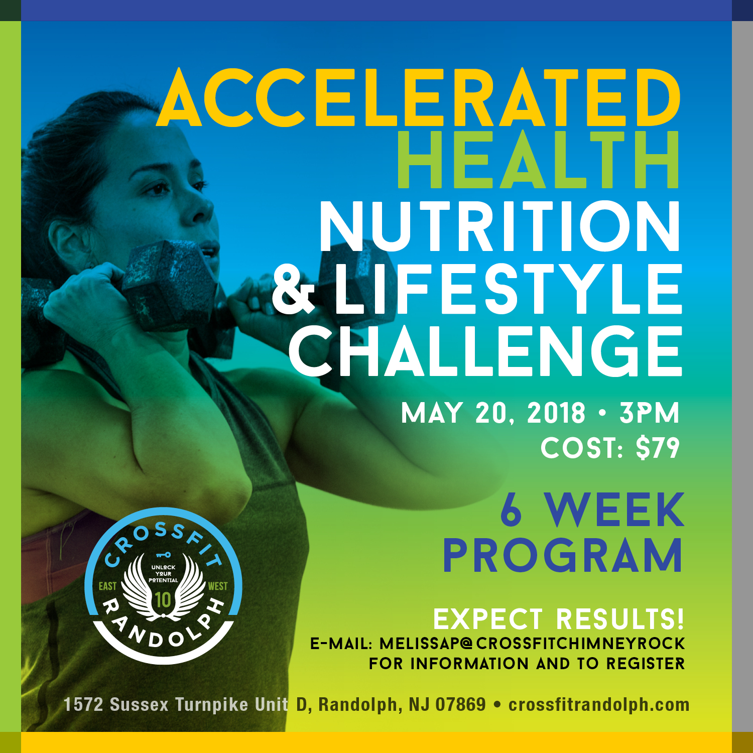 Accelerated Health Lifestyle and Nutrition Challenge