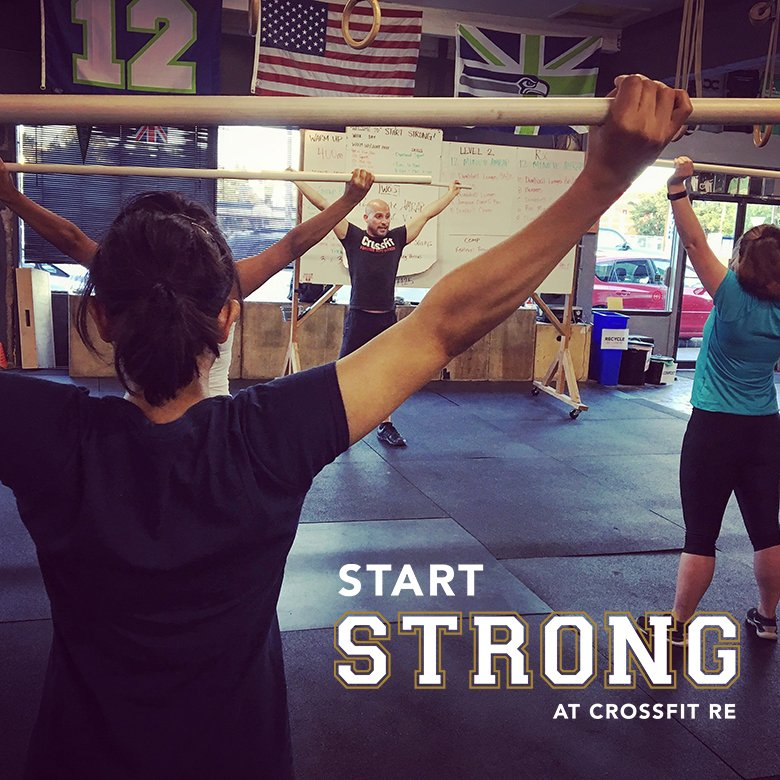 Start Strong Challenge May 2018