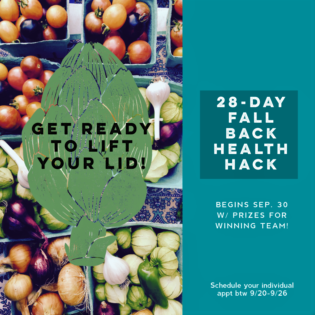 28 Day Fall back Health Hack