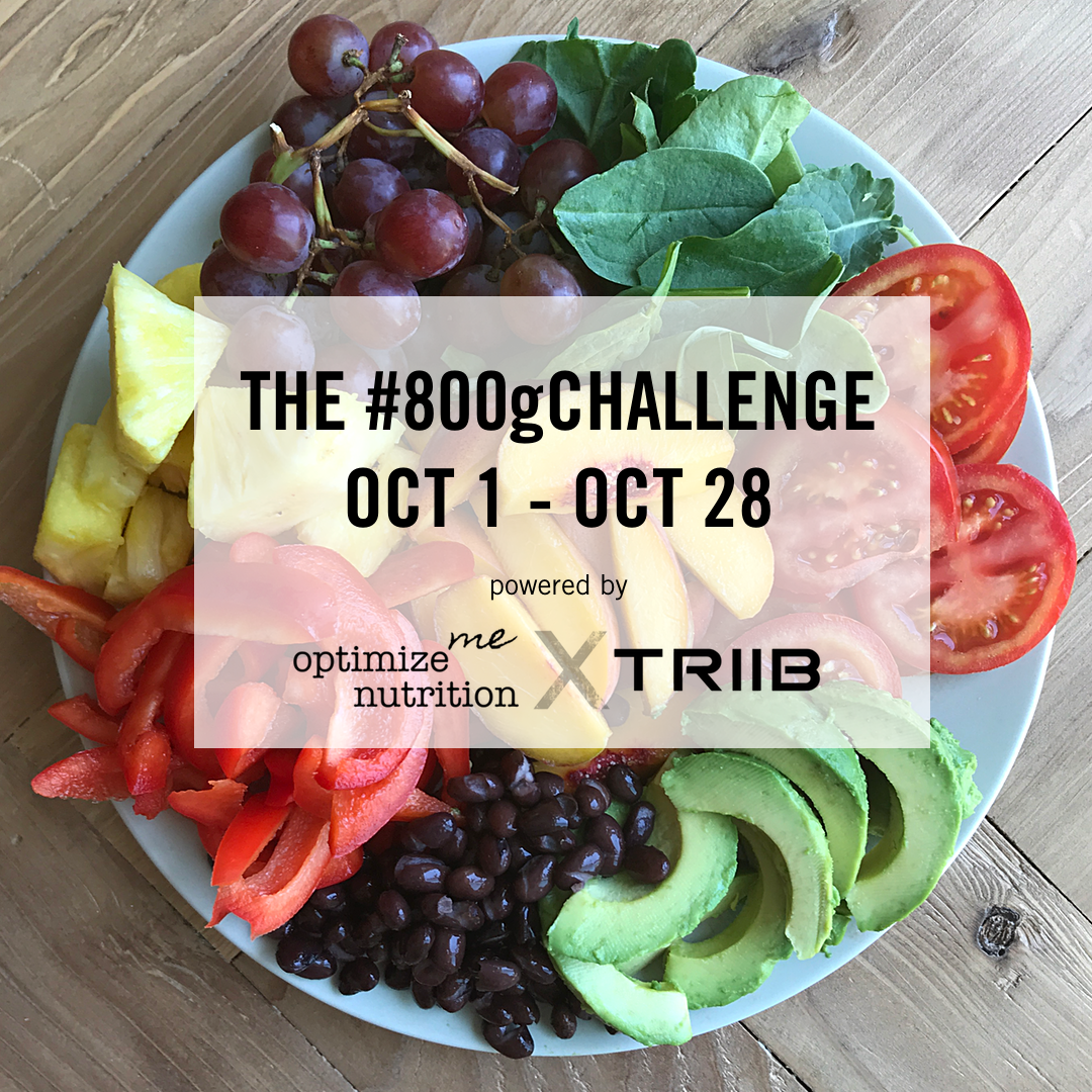 The #800g Challenge by OptimizeMe Nutrition