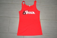 Armada Tank Female Red
