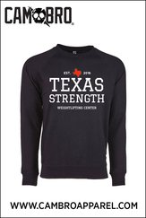 TXS SWEATSHIRT BLACK AND WHITE
