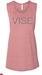 Vise Pink Muscle Tank