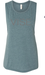 Vise Teal Muscle Tank