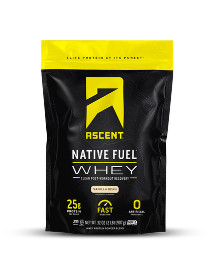Ascent 2LB Whey (Vanilla Bean)