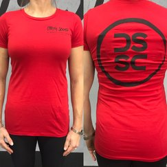 Women's Circle T   (Red/Black)