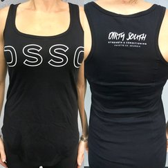 Women's DSSC Tank (Black/White)