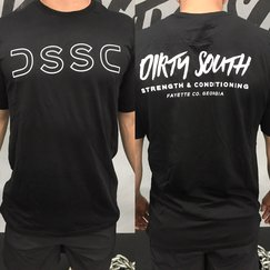 Men's DSSC T (Black/White)
