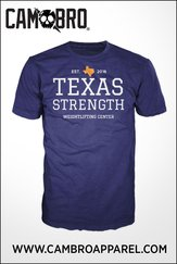 Navy and Orange TXS T-Shirt