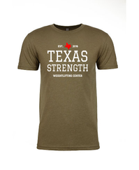 Texas Strength T-Shirt (Army Green)