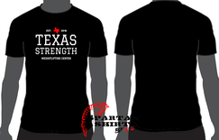 TXS T-Shirt (Black w/ white lettering)