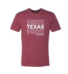 TXS T-Shirt (Red w/white lettering)