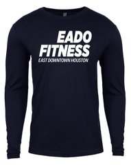 Long sleeves EaDo Fitness T-Shirt- Midnight