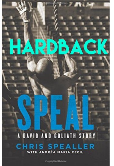 Speal A David and Goliath Story-Hardback-Signed