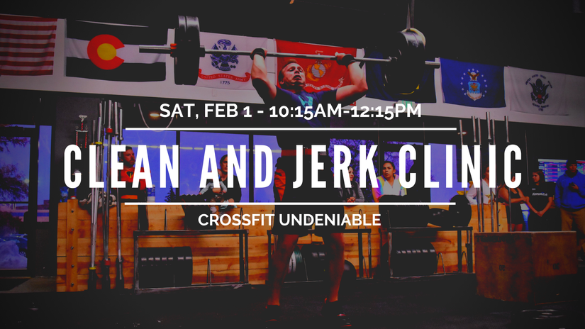 Clean and Jerk Clinic
