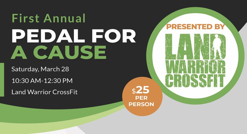 First Annual Pedal for a Cause