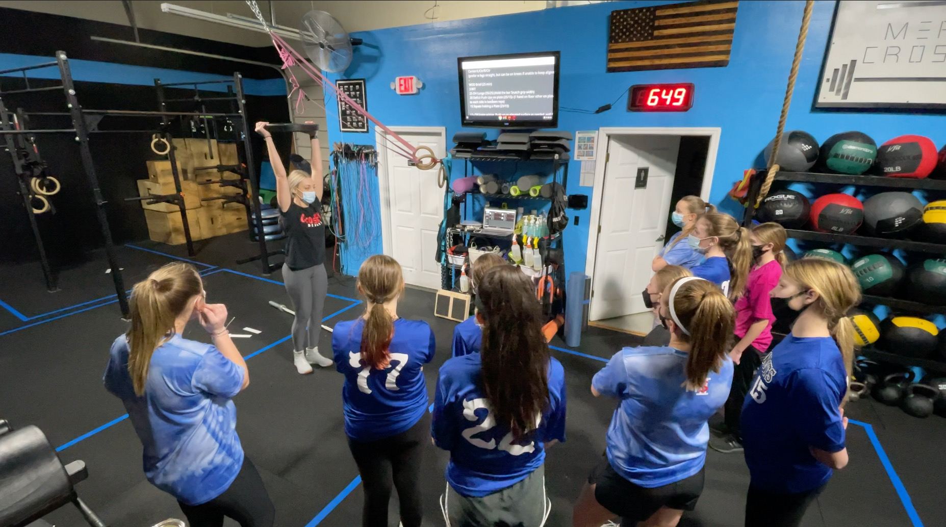 Overtime Athletes Strength and Conditioning