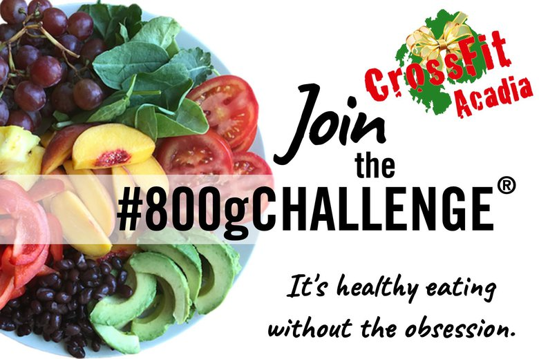 The #800gChallenge: Holiday Edition!
